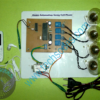 Home automation using cell phone via DTMF - Assembled