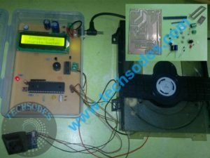 Fingerprint Security System components and assembled