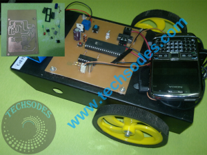 CellPhone Controlled Robotic vehicle