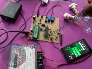 Advanced GSM Meter Reading With Load Control