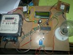 GSM Meter Reading And Load Control With Theft Security using PIC18F4550