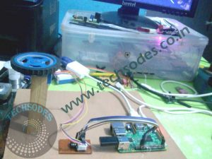 Stepper Motor Control Using Raspberry-pi