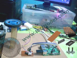 Stepper Motor Control Using Raspberry pi project