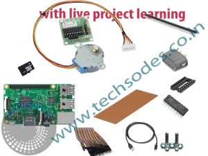Stepper Motor Control Using Raspberry pi Learning kit