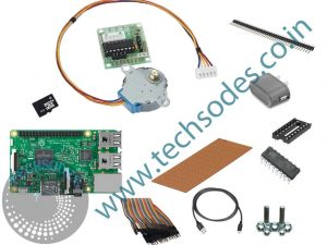 Stepper Motor Control Using Raspberry pi Professional kit